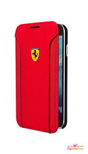 Scuderia Ferrari Fiorano Slim Thin Rubber Book type Case Samsung Galaxy S6 Red