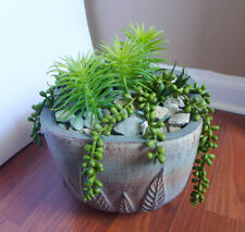 5 Artificial Plants Mini Pine Tree And pearl bean hang Succulents