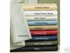 Ralph Lauren Estate Sateen Standard Pair Pillowcases DAMASK RED