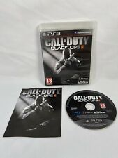 CALL OF DUTY BLACK OPS II (2)  PS3 - COMPLETE - VGC