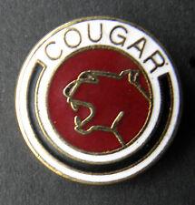 COUGAR MERCURY AUTOMOBILE CAR INSIGNIA AUTO LAPEL PIN BADGE 3/4 INCH