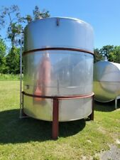 Perry 4000gal 304 Stainless Steel Vertical Tank With Cone Bottom