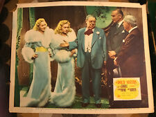 The Dolly Sisters 1945 20th Century Foxmusical lobbycard Betty Grable June Haver
