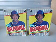 Lot of (2) 1989 Fleer Baseball Wax Boxes-unopened - Case Fresh. Griffey Jr PSA?