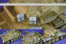 1/35 IDF AFV Jerrycan & Holder set