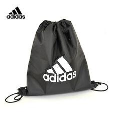 Adidas Shoes Gym Sack Bag Backpack Football Soccer Strap Black Unisex Accessory