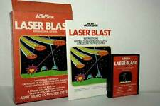 LASER BLAST GIOCO USATO ATARI VCS 2600 EDIZIONE EUROPEA VERSIONE ITA FR1 44339
