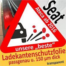 Seat Ateca Lackschutzfolie Autoschutz Ladekantenschutz Schutzfolie Autofolie