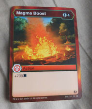BAKUGAN Battle Brawlers Battle Planet MAGMA BOOST ACTION Card 101_CO_BB