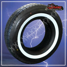 "15"" WHITEWALL 225 75 15 SURETRAC TYRES.  37MM WHITE LINE 225/75R15 WHITE WALL 15"