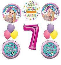 JoJo Siwa Party Supplies Dream Crazy Big 7th Birthday Balloon Bouquet Decoration