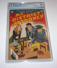 Mr. District Attorney #17 - 1950 DC Golden Age Issue - PGX VF- 7.5