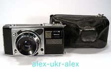 Rare Russian Voschod with 2,8/45 mm lens 35- mm film camera.Good work.№682655
