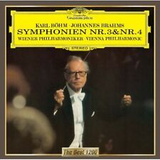 Vienna Philharmonic - Brahms: Symphonies Nos. 3 & 4 [New CD]