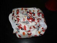 Mama Koala New cloth diaper with insert Firemen Fire truck