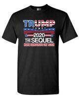 Trump The Sequel 2020 Make Democrats Cry Again Political DT Adult T-Shirt Tee