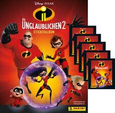 Panini - Die Unglaublichen 2 - Serie 2 - Sammelalbum + 5 Tüten - 25 Sticker
