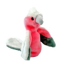 Galah Hand Puppet 25cm soft plush toy NEW