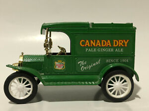 """Coin Bank - """"Canada Dry Pale Ginger Ale"""" 1913 Model T - Ertl # 2133 - 1220C"""