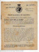 PROPAGANDA DI GUERRA N. 18 – 15 Giugno 1918 - Prima Guerra Mondiale WWI Germania