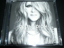 Celine Dion Loved Me Back To Life (EU) 13 Track CD - Like New