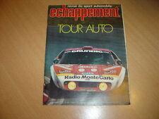 Echappement N°85 911 Turbo.A112 Abarth HP70.Rallye 2 g2