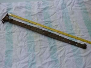 "Antique Window Stay - Large About 18"" Long & Heavily Built."