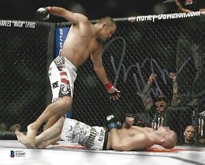 Dan Henderson Signed 8x10 Photo BAS Beckett COA UFC 100 Bisping H-Bomb Picture