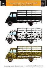 Sbs Models Decals 1/35 Renault Ahn Truck In German Service In Wwii