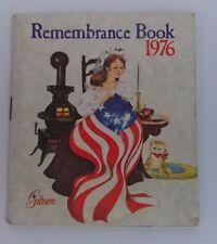 Vintage Gibson Greetings 1976 Bicentennial Remembrance Book Calendar Unused