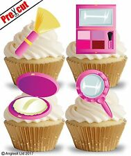 PRE-CUT GIRL WOMEN ACCESSORIES IV. EDIBLE WAFER PAPER CUP CAKE TOPPER DECORATION