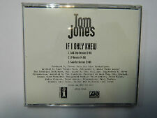 Tom Jones - If I Only Knew (3 Song) CD Promo INTERSCOPE / ATLANTIC PRCD 5926