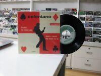 """Celentano 7 """" EP Spanisch Preghero + 3. 1962"""