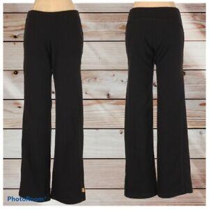 Nike Fleece Low Rise Fleece Athleisure Pants Small Black