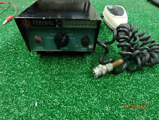 Federal Signal VINTAGE Interceptor PA-20A Collectable Radio siren 1960 1970's