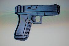 Us Usa 40 Cal Glock Automatic Handgun Military Hat Lapel Pin