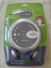 New listing Vintage Insignia Portable Cd Player Black/ Gray Is-Pa040719A w/ Head Phones