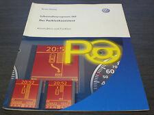 VW Passat  B6 Typ 3C  Parklenk  Assistent  SSP 389 Technischer  Stand 01/2007