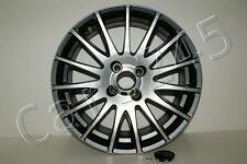"4x pcs Fiat Grande Punto Bi Color Alloy Wheels Rims R17 17"" 4x100 ET39"