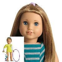 American Girl MCKENNA DOLL + McKenna's Yellow PERFORMANCE OUTFIT Leotard SET