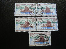 NOUVELLE CALEDONIE timbre yt n° 352 x5 obl (A4) stamp new caledonia