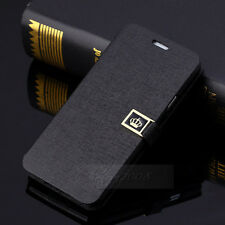 Luxury Leather Wallet Card Case Stand Flip Cover For Samsung Galaxy S6
