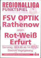 RL 1995/96 FSV Optik Rathenow - FC Rot-Weiß Erfurt, 26.08.1995