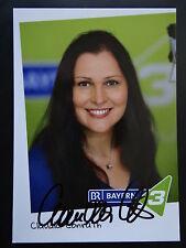 "Autogrammkarte: ""Claudia Conrath""- BR 3- handsigniert"