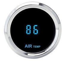Dakota Digital Round Outside Ambient Air Temperature Gauge Blue SLX-14-5 New