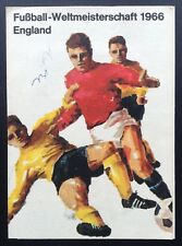 England 1966 World Cup Tournament Fixture List West Germany Issue