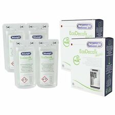 Delonghi EcoDecalk Mini 2 x 100ml Descaler (Pack of 4)