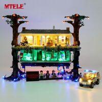 LED Light Up Kit For Stranger Things The Upside Down LEGO 75810 Lighting Set