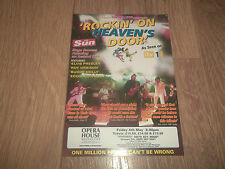 "OPERA HOUSE MANCHESTER "" ROCKIN' ON HEAVEN'S DOOR "" FLYER / HANDBILL 2007"