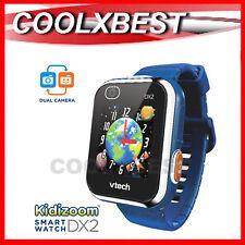 NEW VTECH KiDiZOOM DX2 KID's SMART WATCH / CAMERA TOUCH SCREEN DIGITAL BLUE